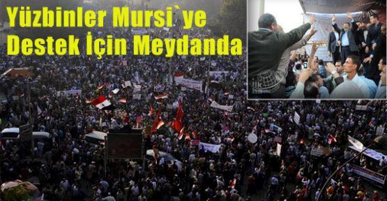 Mursi İçin Meydanlar Doldu Taştı