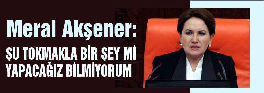 'müsait' tartışmasında Akşener tepkisi