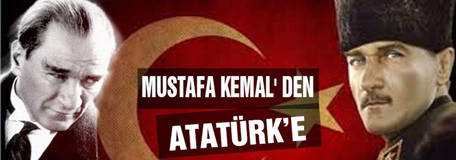 Mustafa Kemal'den ATATÜRK'e