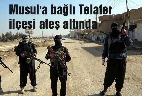 Musul'a bağlı Telafer ilçesi ateş altında