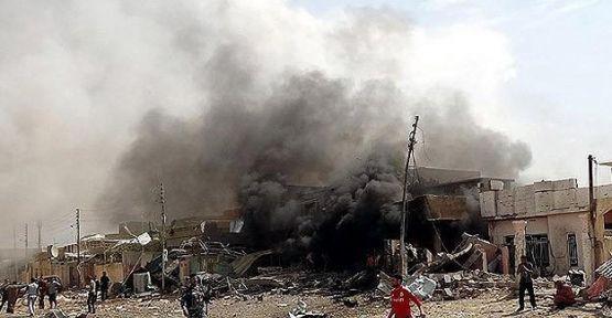 Musul'da bomba yüklü araçla saldırı