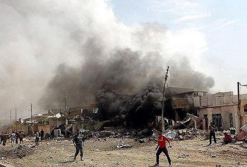 Musul'da Karargaha saldırı...