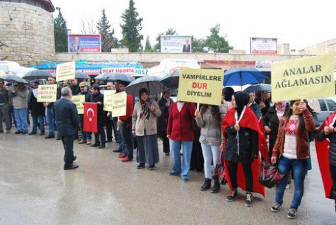 Mut'ta 'gazinolar kaldırılsın' eylemi
