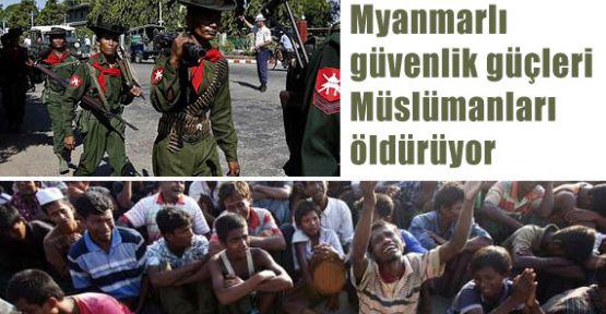 Myanmar'da Devlet Eliyle Katliam