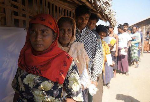 Myanmar'daki şiddet...