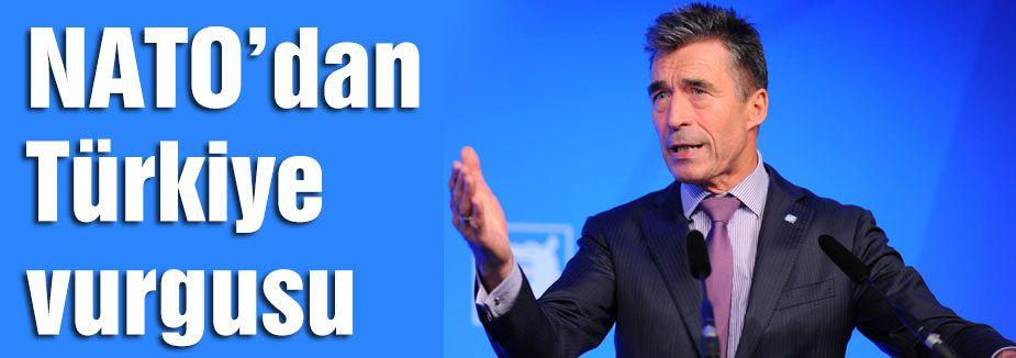 NATO'dan Türkiye vurgusu