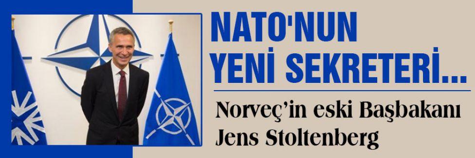 NATO'NUN YENİ SEKRETERİ...