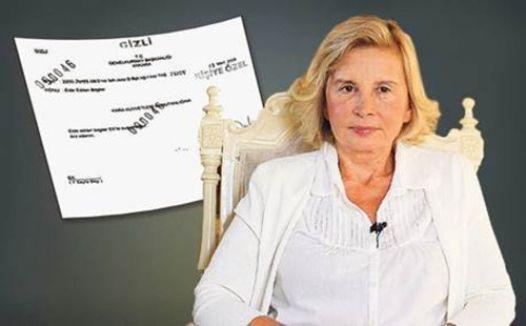 Nazlı Ilıcak'ın askeri istihbarat belgesi tartışılmaya devam ediyor