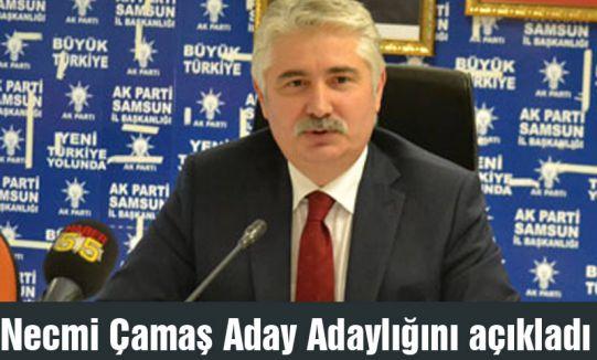 Necmi Çamaş AKP'den Aday Adaylığını açıkladı