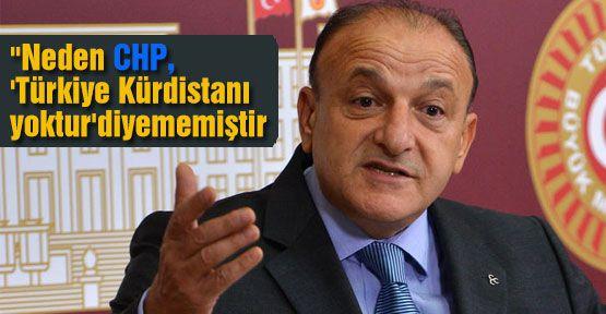 """""""Neden CHP, 'Türkiye Kürdistanı yoktur' Diyemedi"""