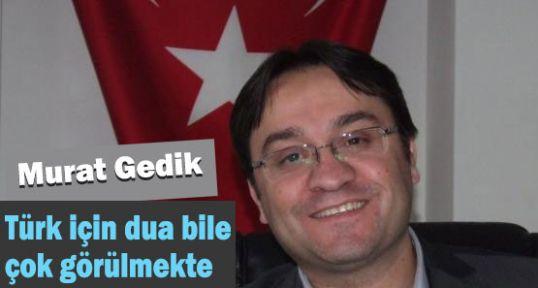 Nedir bu Türk'e olan kin?