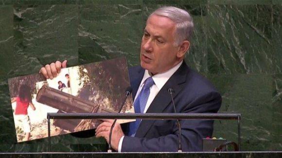 Netenyahu'dan BM'ye Sert Sözler
