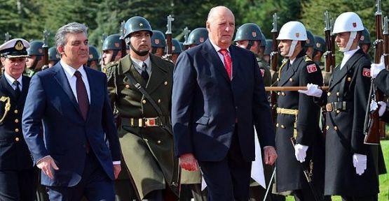 Norveç Kralı 5. Harald Ankara'da...