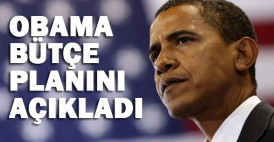 Obama Bütçe Planını Açıkladı