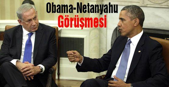 Obama Netanyahu ile görüştü...