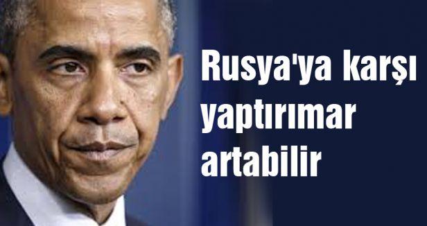 Obama; Rusya'ya karşı yaptırımar artabilir