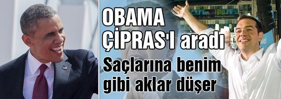 Obama; 'Saçlarına benim gibi aklar düşer'