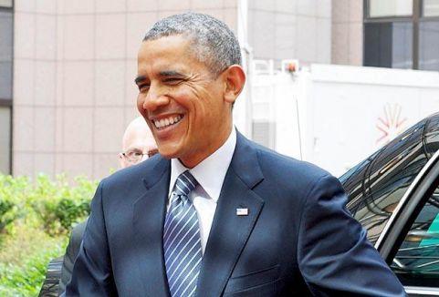Obama Suudi Arabistan'da...