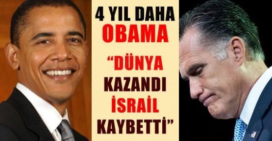 Obama Yeniden Başkan