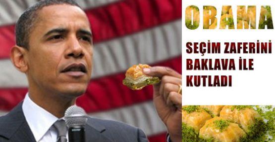 Obama, Zaferini Türk Baklavasıyla Kutladı