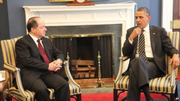 Obama'dan Barzani'ye Özel Temsilci