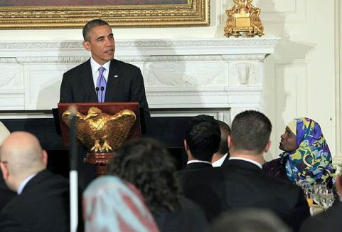 Obama'dan Beyaz Saray'da iftar