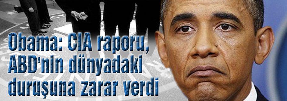 Obama'dan CIA raporu açıklaması