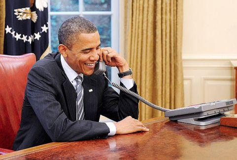 Obama'dan geçmiş olsun telefonu...