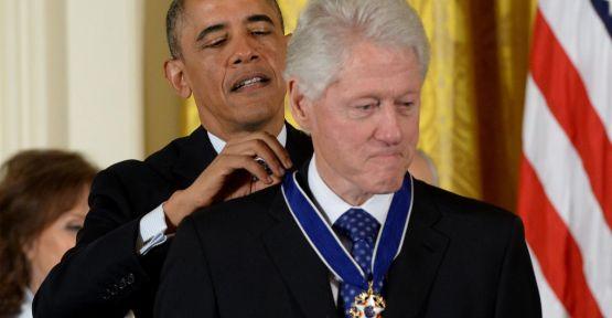 Obama'dan Özgürlük Madalyası