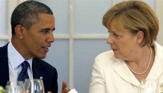 Obama'dan Şansölye'ye güvence...