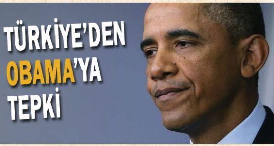 Obama'ya Sert Tepki; Yaptığı Açıklama Sorunlu