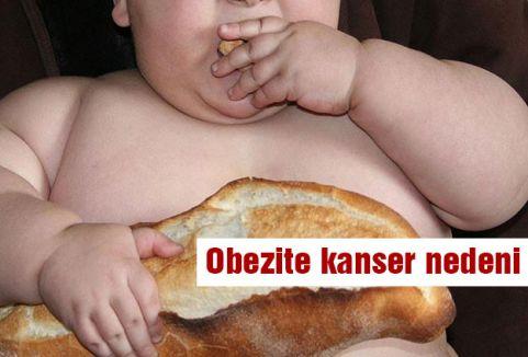 Obezite kanser nedeni