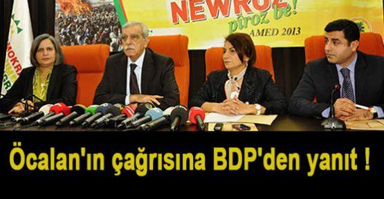 Öcalan Çağrısına BDP Yanıtı