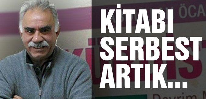 Öcalan'ın kitabına toplatma kararı kaldırıldı