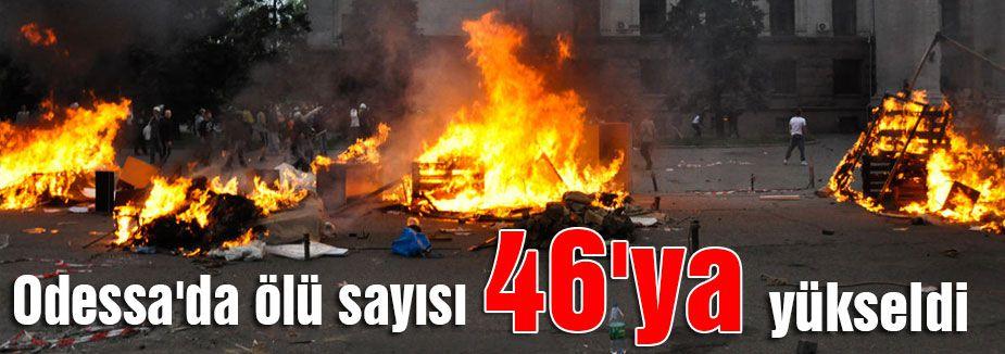 Odessa'da ölü sayısı yükseldi