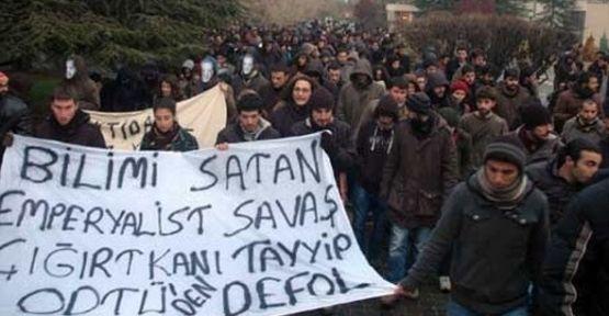 ODTÜ'de Erdoğan'ı Protesto Eden 45 Öğrenciye 6'şar yıl Hapis...