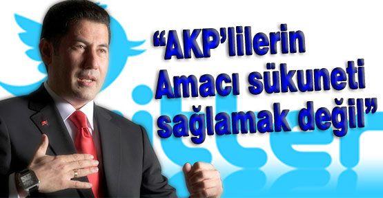 Ogan; AKP'nin Davet Organizasyonu...