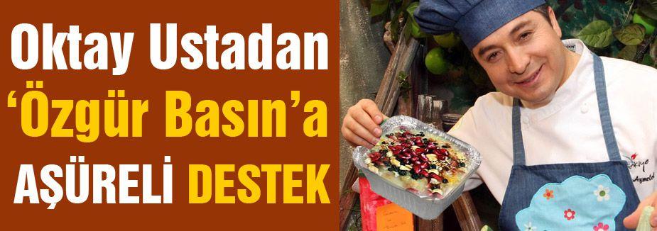 Oktay Usta, Silivri'de özgür basın için aşure dağıtacak