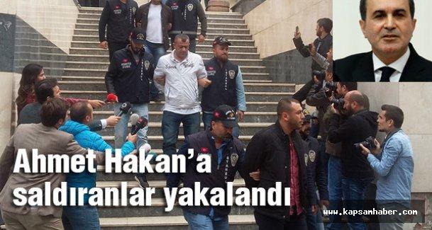 Ömer Çelik: Ahmet Hakan'a saldıranların 3'ü partimize üye