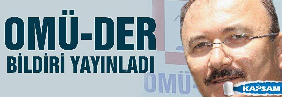OMÜ-DER'DEN  ERMENİ SOYKIRIMINI ONAYLAYANLARA SERT TEPKİ!
