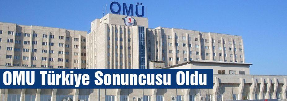 OMU Türkiye Sonuncusu Oldu