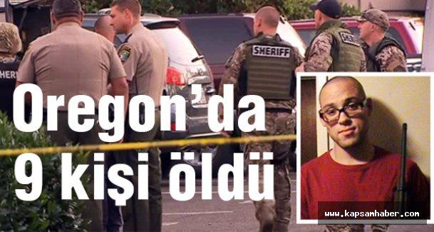 Oregon saldırısında 9 kişi öldü