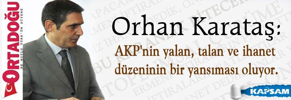 Orhan Karataş: Onlar ve biz