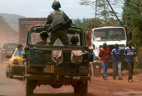 Orta Afrika olaylar dinmiyor...