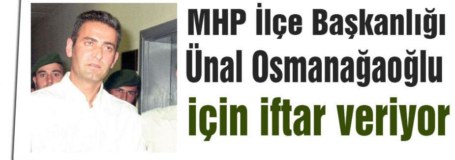 Osmanağaoğlu için iftar