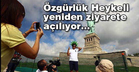 Özgürlük Heykeli yeniden ziyarete açılıyor...