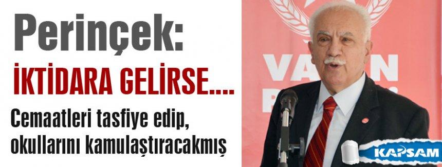 Perinçek, MHP ve CHP'den Söz İstiyor!