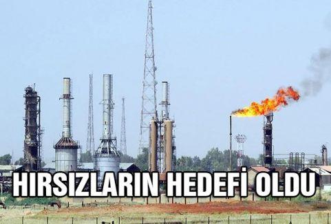 petrol boru hatları hırsızların hedefi oldu