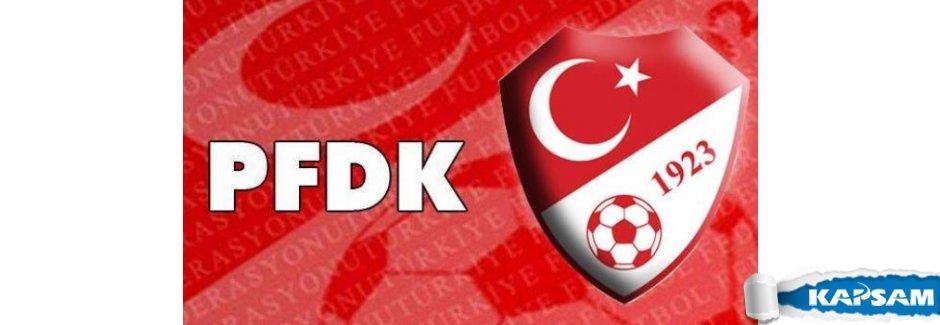 PFDK kararları verildi