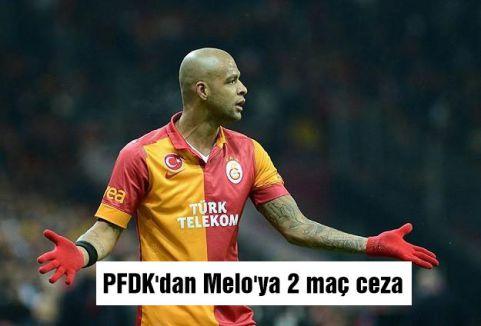PFDK'dan Melo'ya 2 maç ceza